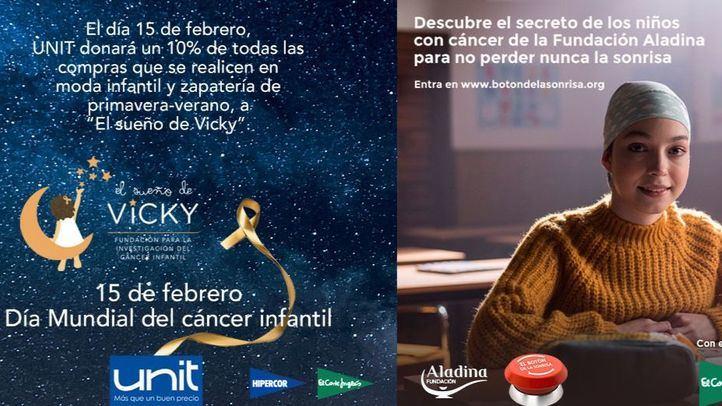 El Corte Inglés donará el 10% de las ventas de hoy de la marca Unit para luchar contra el cáncer infantil