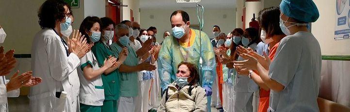 Recibe el alta la paciente más tiempo ingresada por Covid en el Gregorio Marañón: 315 días