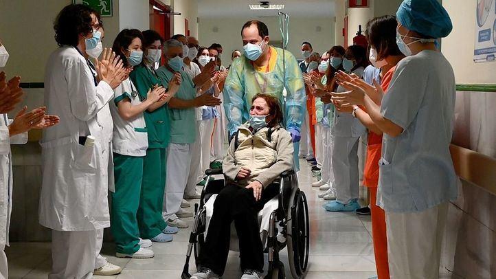 Despiden a la paciente ingresada más tiempo por Covid