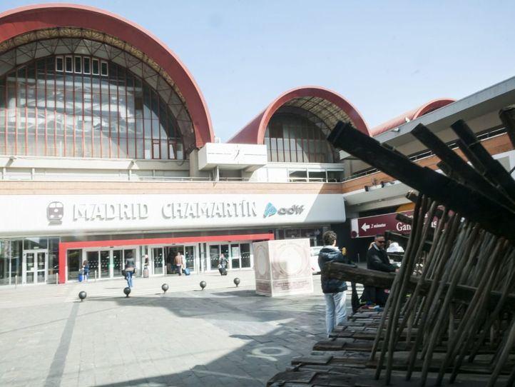La estación de Chamartín estrena este miércoles un aparcamiento para bicicletas