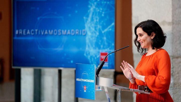 La Comunidad presenta su plan 'Reactivemos Madrid' para la gestión de los fondos europeos