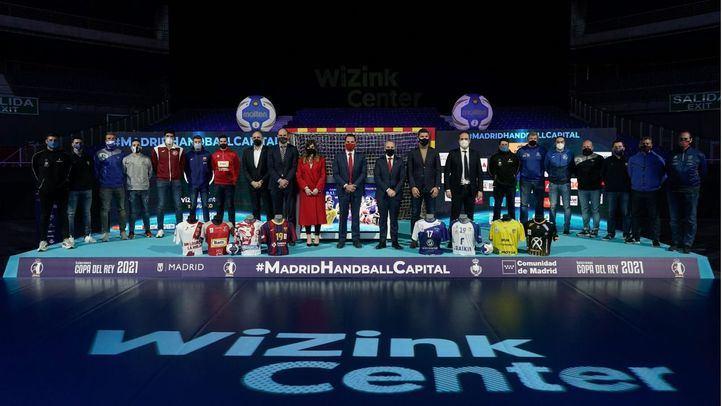 La fase final de la Copa del Rey de Balonmano se disputará en marzo con público en el WiZink