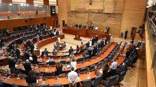 La Asamblea guarda un minuto de silencio por la mujer asesinada en Majadahonda
