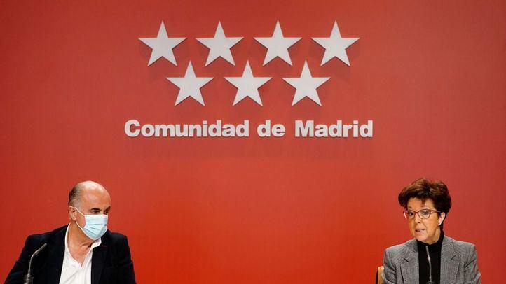 Antonio Zapatero y Elena Andradas actualizan la situación epidemiológica de la Comunidad de Madrid