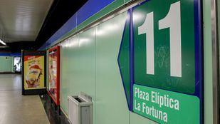 La Línea 11 de Metro acogerá tras su ampliación a 250.000 viajeros al día