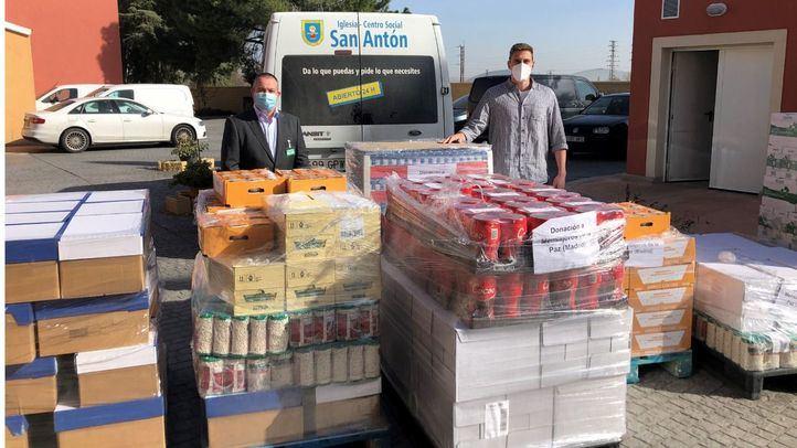 Mercadona dona 3,1 Toneladas de productos de primera necesidad a Mensajeros de la Paz