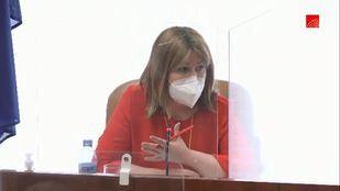 Natalia de Andrés en la Comisión de investigación sobre Residencias y Covid-19