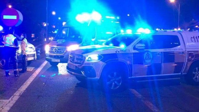 Muere un motorista en un accidente en la A6