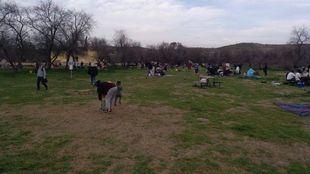 Desalojado un parque natural de Valdemoro por aglomeración de gente