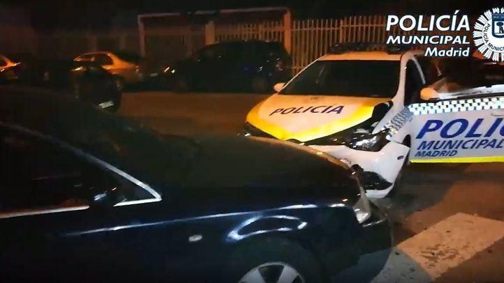 Detenido tras embestir a una patrulla con un coche robado emulando a 'El Piojo'