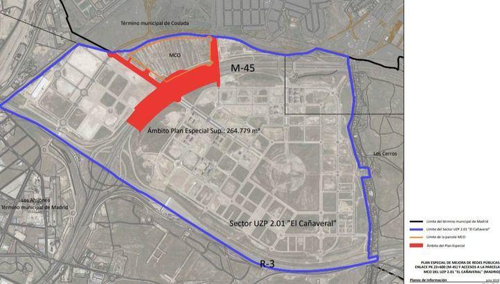Madrid aprueba el plan que facilita la conexión de El Cañaveral con la M-45