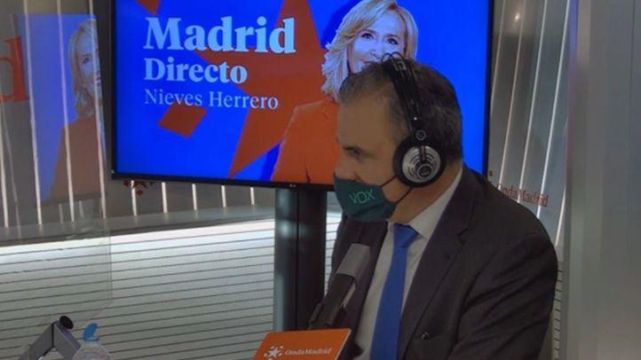 Ortega Smith en el estudio de Onda Madrid