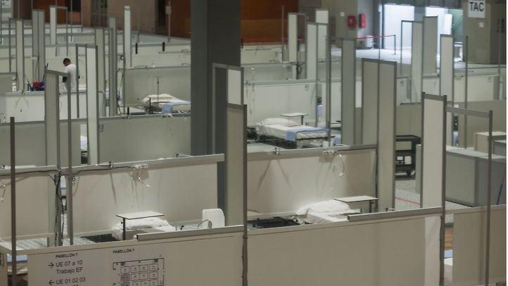La Comunidad de Madrid pagará más de 2,8 millones a Ifema por el hospital de campaña