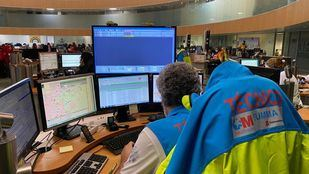 Centro de Emergencias 112 de la Comunidad de Madrid.