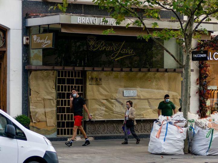 Serrano, Goya, Calle, Negocios, Tiendas, Cerrados, Cierre, Liquidación