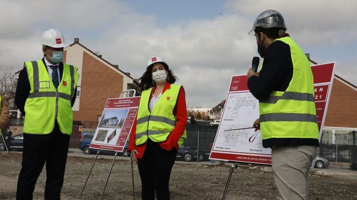 Arrancan las obras del futuro Palacio de Justicia de Valdemoro