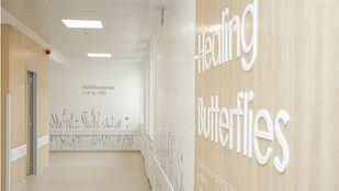Habitaciones individuales en la nueva área del Cáncer del Hospital de La Princesa.