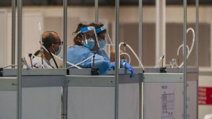 Los contagios y la presión hospitalaria por Covid disminuyen en la región