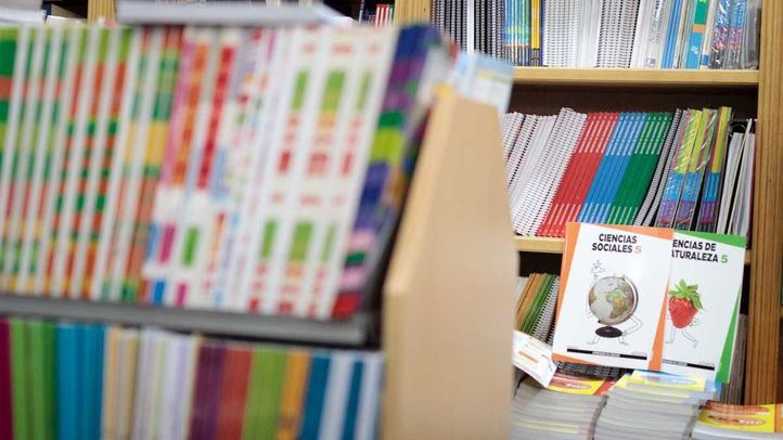 Libros de texto de Primaria.