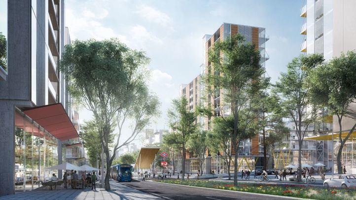 Medio Ambiente busca inversores para convertir Madrid Nuevo Norte en una ciudad viva