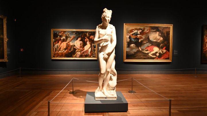 Exposición ´Pasiones Mitológicas´ en el Museo del Prado