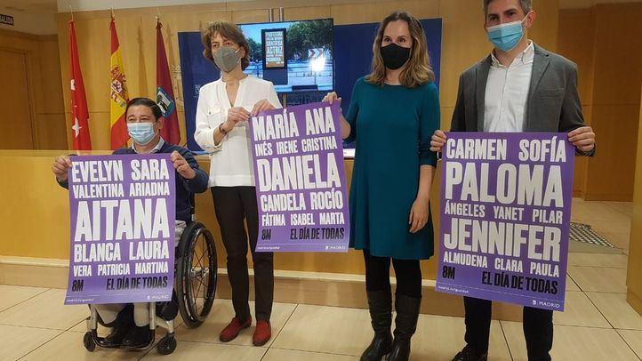 Presentación de la campaña por el 8-M.
