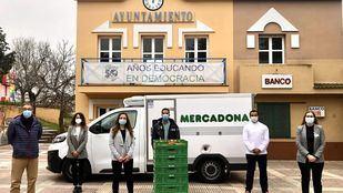 Donación de alimentos CiudadEscuela Muchachos en Leganés