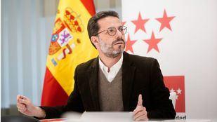 El consejero de Hacienda y Función Pública, Javier Fernández-Lasquetty