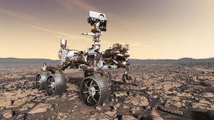 El primer paseo del rover Perseverance en Marte