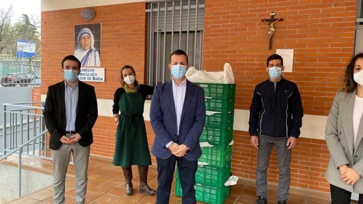 Mercadona donará alimentos al comedor social Inmaculado Corazón de María