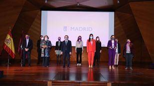 Entrega de los Premios Clara Campoamor en el Día de la Mujer.