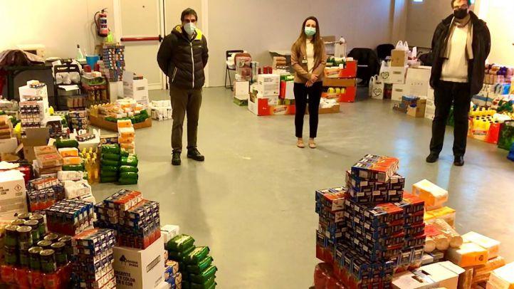 Mercadona dona 8.000 kilos de productos de primera necesidad a Cáritas Leganés