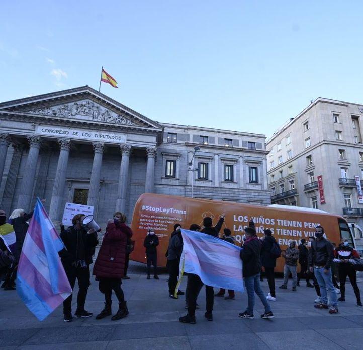Exigen ante el Congreso la aprobación 'urgente' de la Ley Trans
