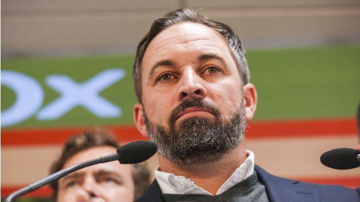 Vox pide elecciones en Madrid, Andalucía y Castilla y León