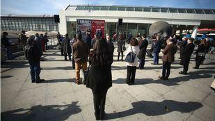 Homenaje en Atocha por la memoria permanente de las víctimas del 11M