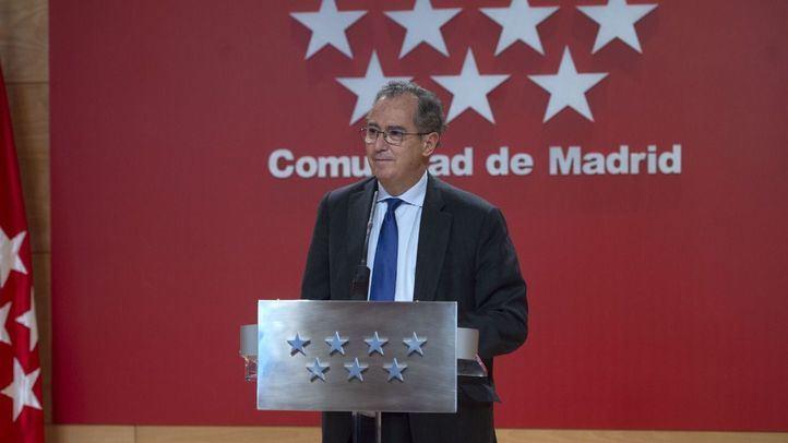 Enrique Ossorio comparece tras la reunión del Consejo de Gobierno extraordinario