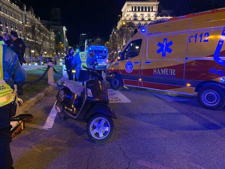 Los servicios de emergencias no pudieron hacer nada por el motorista fallecido