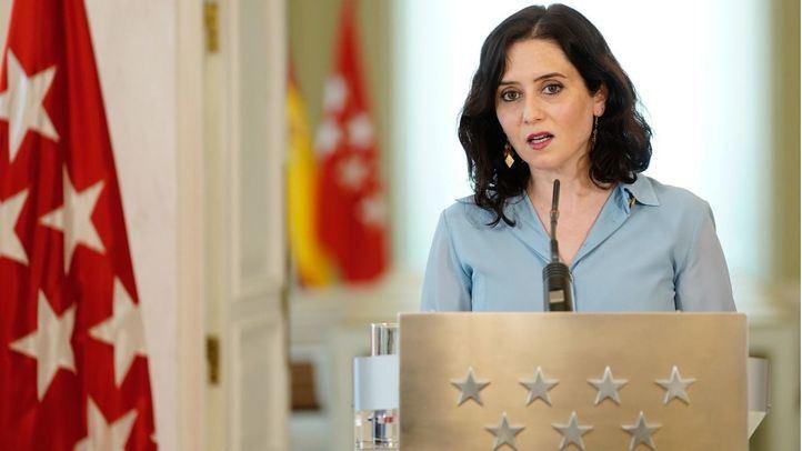 La presidenta regional reconoce que se ha llevado