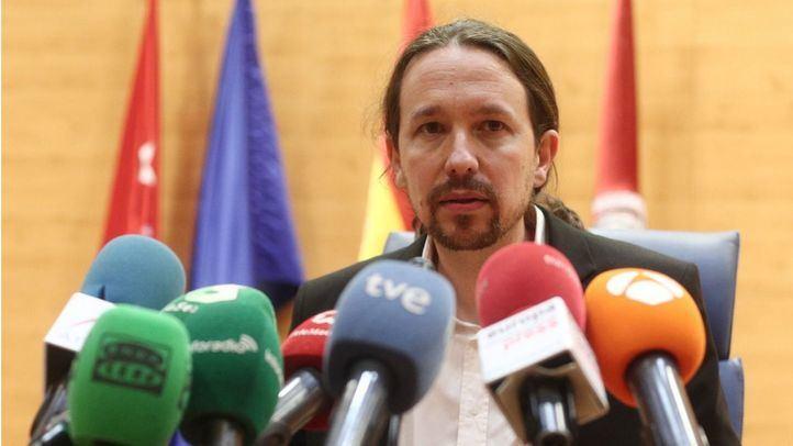 Pablo Iglesias, candidato de Unidas Podemos a las elecciones autonómicas de la Comunidad de Madrid