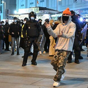Madrid, en alerta policial por una protesta no autorizada a favor de Hasel