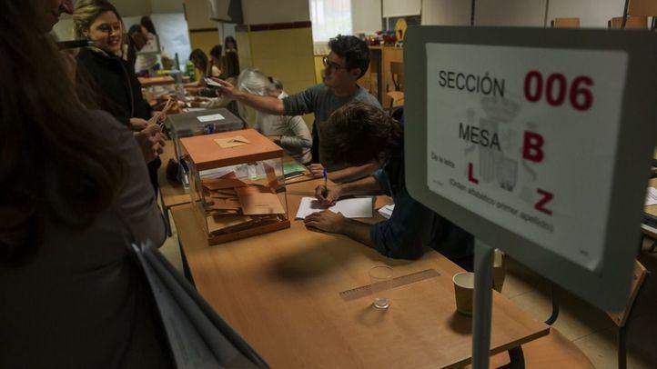 Más de 5,1 millones de madrileños están llamados a votar en la autonómicas del 4 de mayo