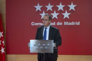 nrique Ossorio, comparece tras la reunión del Consejo de Gobierno extraordinario