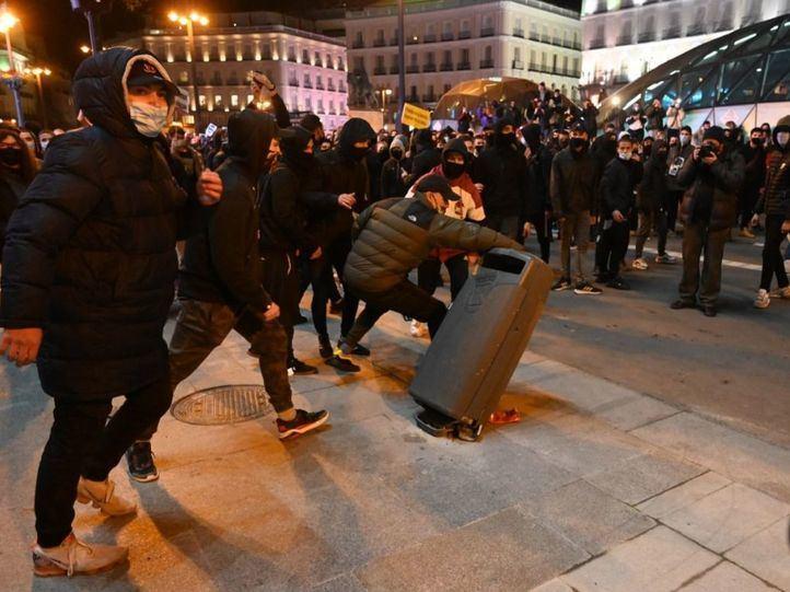 Tres nuevos detenidos implicados en los disturbios de las protestas por Hasel