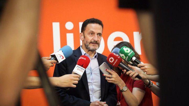 Edmundo Bal,  portavoz de Ciudadanos en el Congreso de los Diputados.