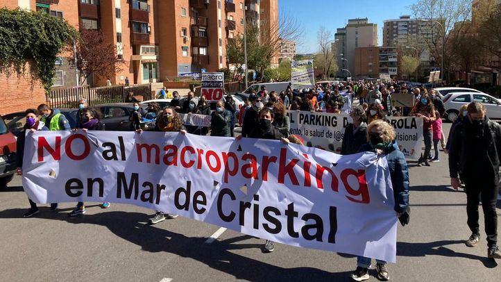 Los vecinos de Hortaleza en contra de la construcción de un macroparking en Mar de Cristal