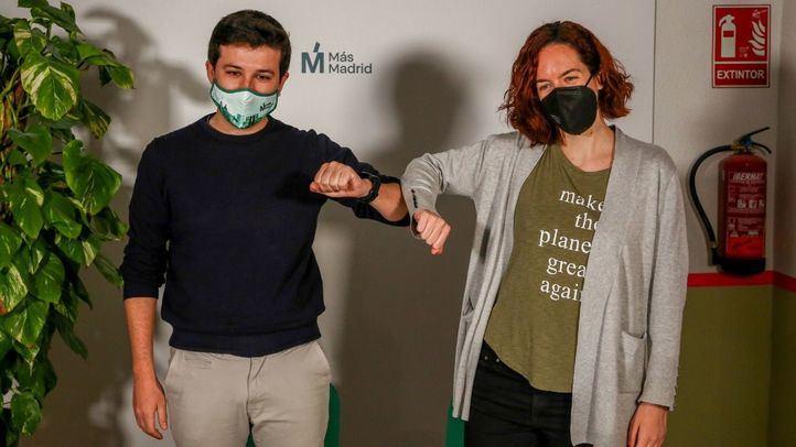 Más Madrid y Equo concurrirán en coalición a las elecciones
