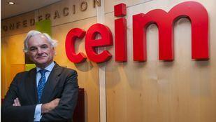 Miguel Garrido, presidente de CEIM, esta tarde en Onda Madrid