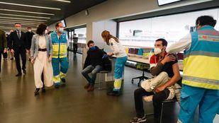 Vacunación en el Wanda Metropolitano