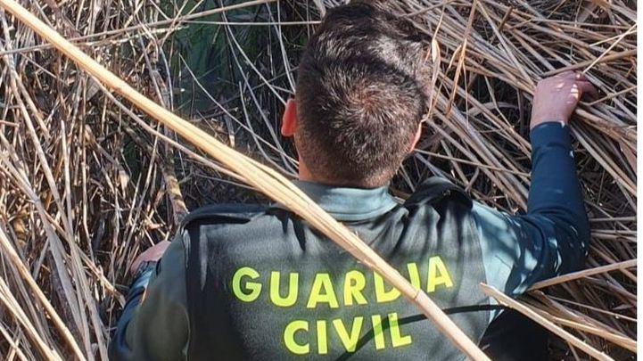La Guardia Civil rescata a una persona atrapada en el río Tajo