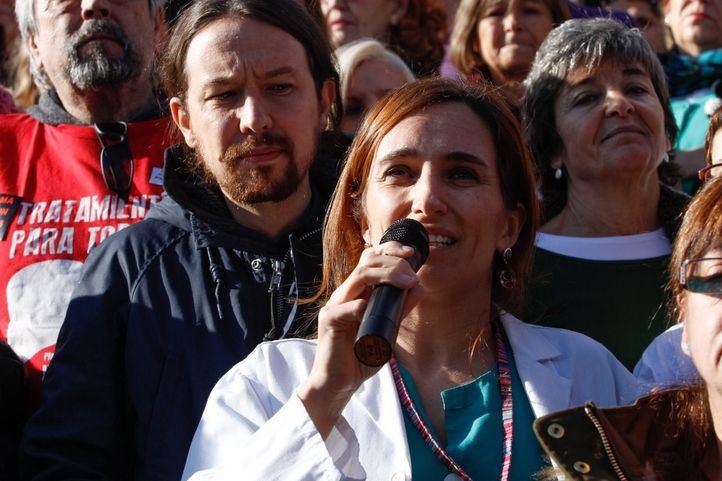 Mónica García médico y diputada de Podemos en la Asamblea de Madrid.